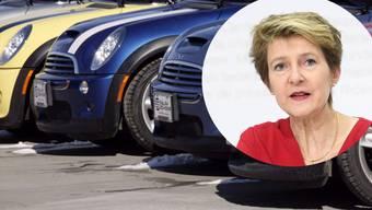 Ist nun auch Bundesauto-Besitzerin Justizministerin Simonetta Sommaruga.