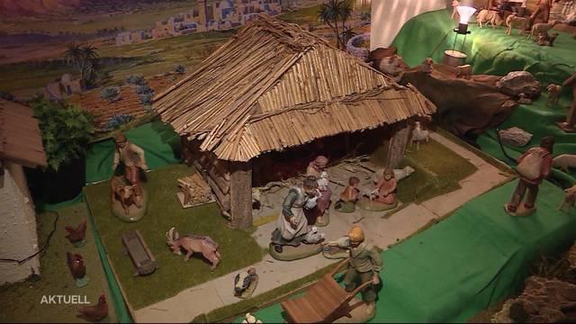 Weihnachts-Wahnsinn: Riesenkrippe in Fahrwangen