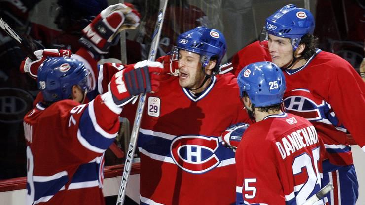 Mark Streit (m.) kehrt zu den Montreal Canadiens zurück.