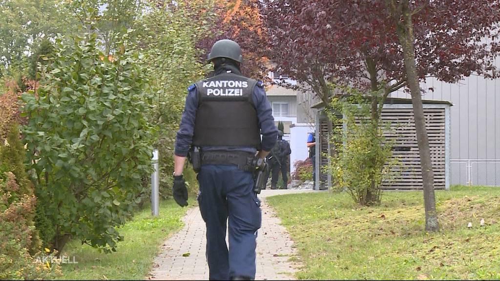 Sondereinsatz in Wohlen: Eine Verhaftung und ein angeblicher Schuss sorgten für Aufruhr