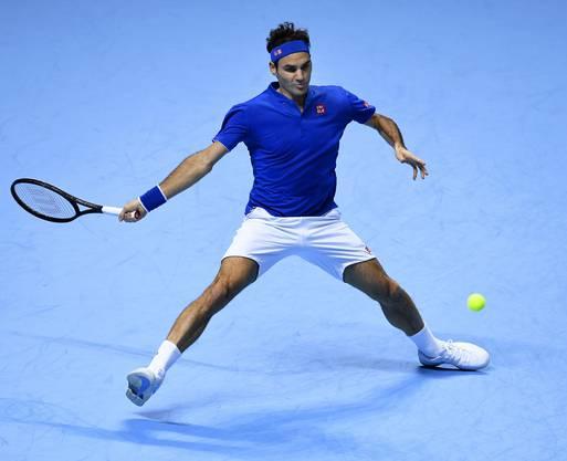 Roger Federer scheiterte im Halbfinal an Alexander Zverev in zwei Sätzen. Zu unkonstant war seine Leistung und das Glück nicht auf des Schweizers Seite.