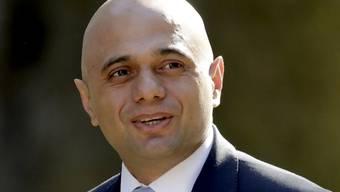 Der britische Innenminister Sajid Javid bewirbt sich um die Nachfolge der britischen Premierministerin Theresa May (Archivbild)