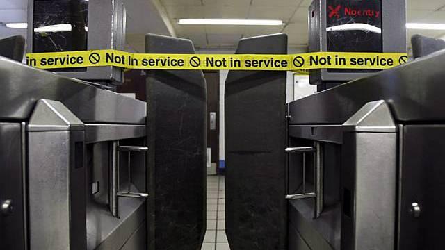 Streik in London legt U-Bahn lahm