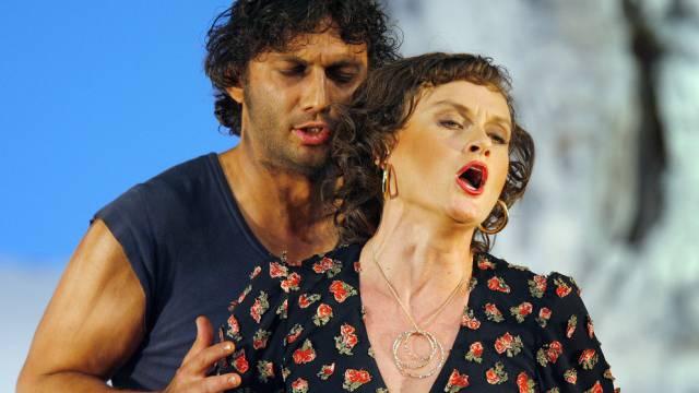 Leider nicht Madonna: Kaufmann mit Kollegin Kasarova in Zürich