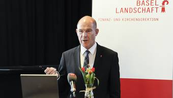 """""""Wir stehen erst am Anfang der Krise"""", sagt der Baselbieter Finanzdirektor Anton Lauber."""