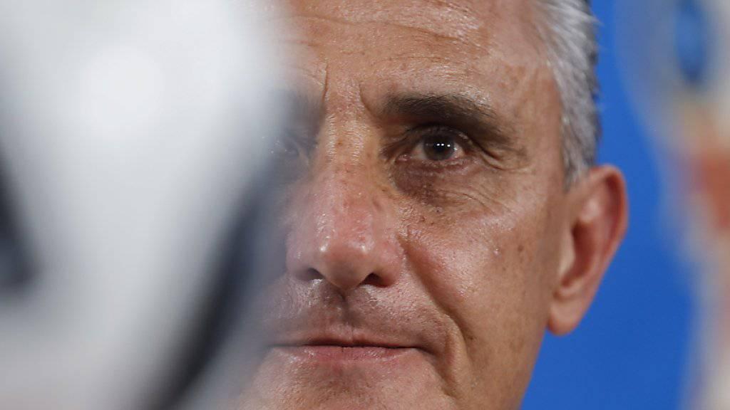 Weiss um die Bedeutung des Startspiels gegen die Schweiz: Brasiliens Nationaltrainer Tite