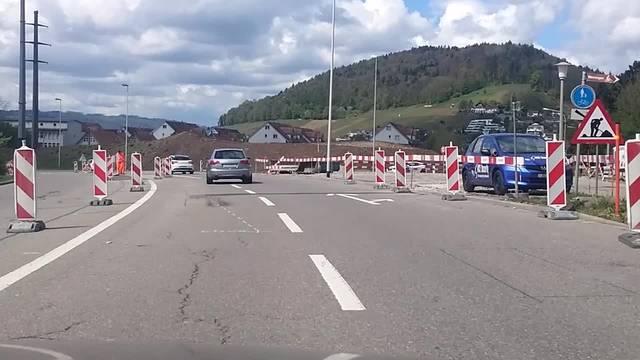 Grossumleitung zwischen Unterengstringen und Oetwil