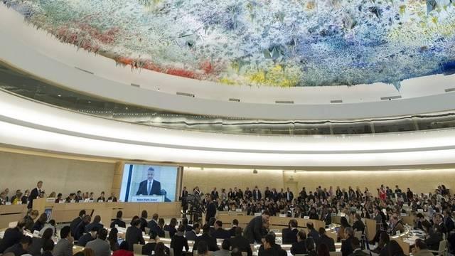 Blick in den UNO-Menschenrechtsrat (Archiv)