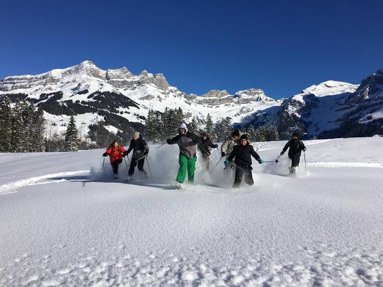 Schneeschuhspass ins Tal