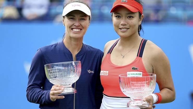 Martina Hingis hat bereits 60 Doppel-Titel auf der WTA-Tour gesammelt