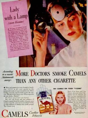 Schliesslich rauchen alle Ärzte.