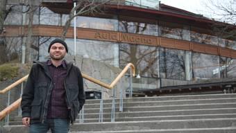 Von Solothurn nach Stockholm: Für Erasmus-Student Christof Ramser ist die Universität Stockholm während eines Semesters zur «zweiten Heimat» geworden.zvg