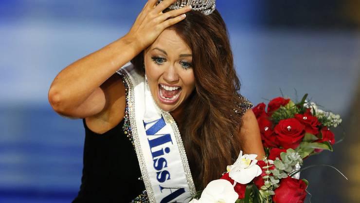 Cara Mund ist Miss America 2018. Sie ist die erste Miss America-Gewinnerin aus North Dakota.