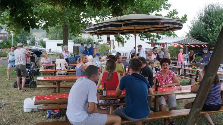 An fünf verschiedenen Standorten fanden am Samstag in Bad Zurzach die Bundesfeiern statt - ganz ohne Festrednerinnen und -redner.