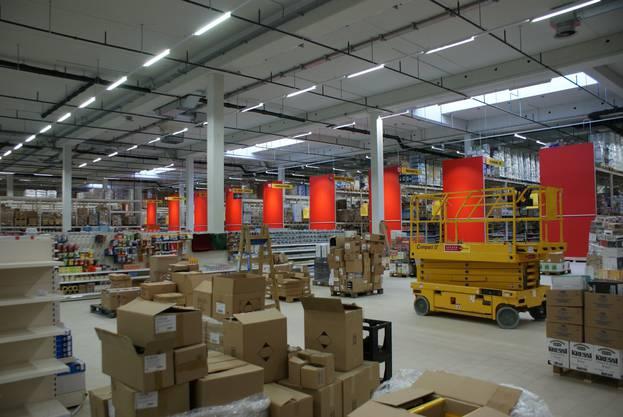 Die Aligro-Filiale in Schlieren führt rund 20000 Artikel im Sortiment