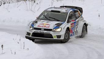 Jari-Matti Latvala war auf dem schwedischen Eis nicht zu bezwingen