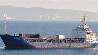 Das Frachtschiff, das derzeit in Seenot sein soll, auf einer älteren Aufnahme.