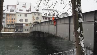 Untersuchung Reussbrücke