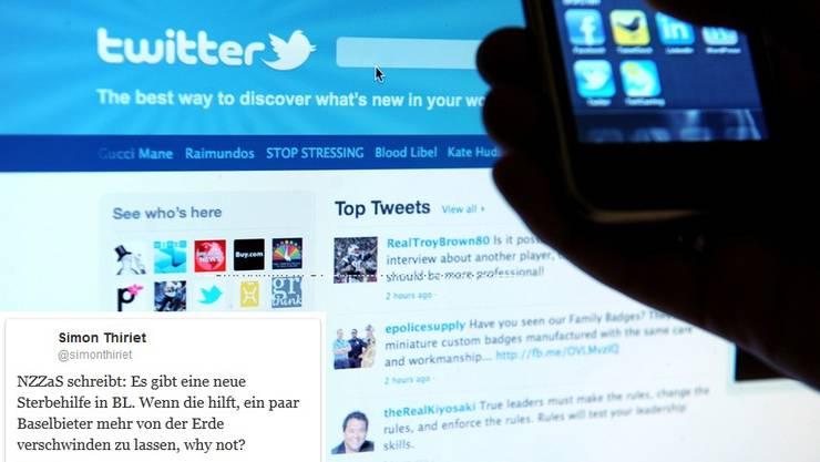 Die 140 Zeichen eines Tweets sind schnell verfasst, die Konsequenzen können länger dauern.