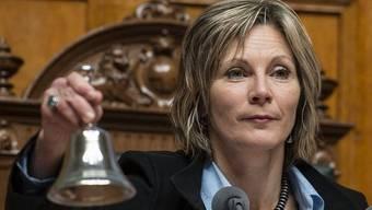 Nationalratspräsidentin Maya Graf läutet die zweite Woche der Wintersession ein