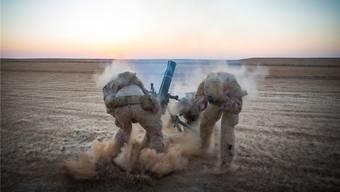 US-Marines in Syrien: Sämtliche amerikanische Soldaten sollen aus dem Land abgezogen werden. U.S. Marine Corps/AP/KEYSTONE