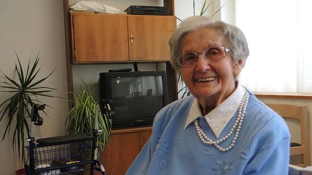 «Jeden Tag für zehn Personen gekocht»: Agatha Müller und ihr «Rezept» für ein langes Leben.