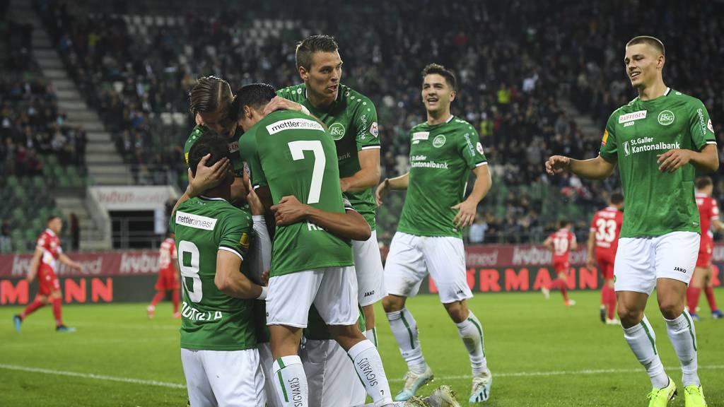 Deshalb gewinnt der FC St.Gallen gegen YB