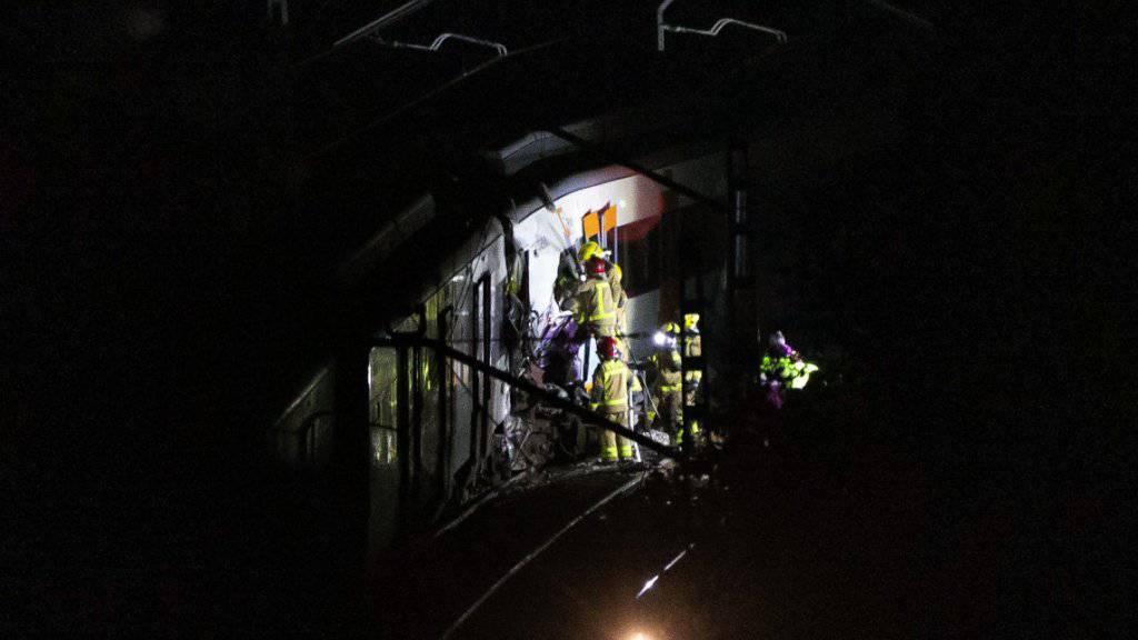 Bei einem neuen Zugunglück in der Nähe von Barcelona ist am Freitag die Fahrerin einer S-Bahn ums Leben gekommen.