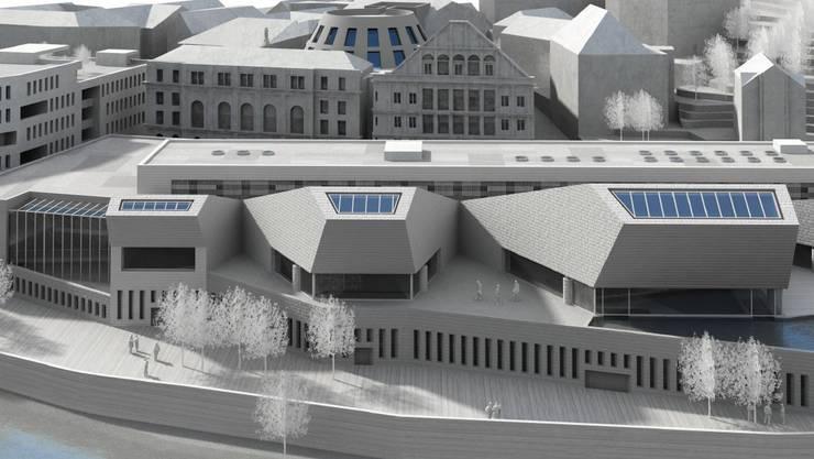 Visualisierung Bäderquartier Baden