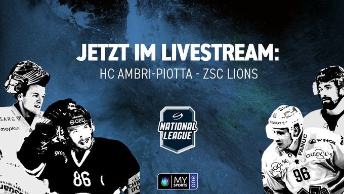 Eishockey: National League: HC Ambri-Piotta - ZSC Lions