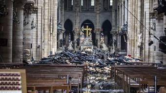 Notre-Dame - Bilder von den ersten Tagen nach dem Inferno