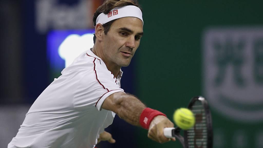 Roger Federer brilliert nicht, steht aber im Viertelfinal