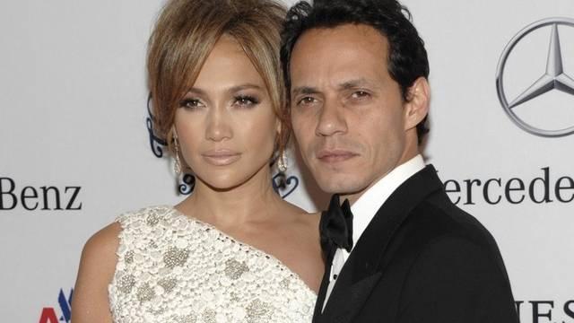 Jennifer Lopez und ihr Mann Marc Anthony (Archiv)