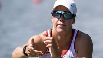 Jeannine Gmelin hatte im Halbfinal alles im Griff