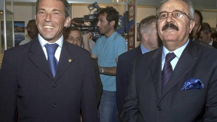 Im November 2002 weilte der verstorbene Kärnten-Landeshauptmann Jörg Haider in Bagdad. Dort besuchte er mit dem damaligen irakischen Aussenminister Naji Sabri den Österreich-Pavillon an der Internationalen Handelsmesse.