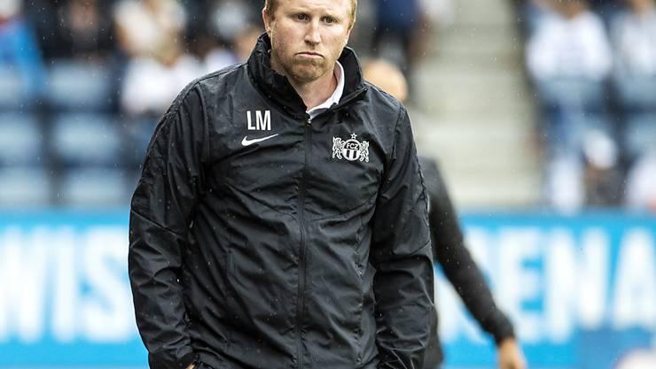 FCZ-Trainer Ludovic Magnin steht bereis unter Druck