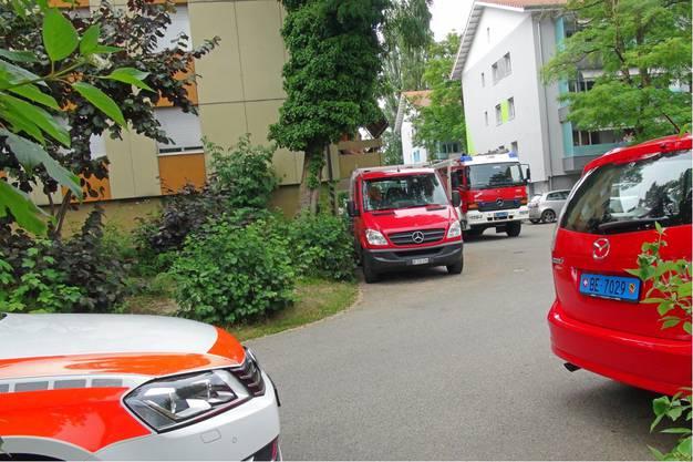 Die Rettungskräfte waren mit einem Grossaufgebot vor Ort.