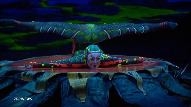 Cirque du Soleil begeistert Premieren-Publikum