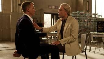 James Bond (Daniel Craig) und Bösewicht (Javier Bardem).