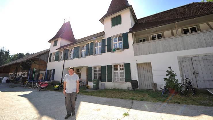 Landwirt Beat Adam ist «Schlossherr» auf dem Buechhof.