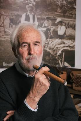 Heinrich Villiger führt sein Unternehmen in dritter Generation.