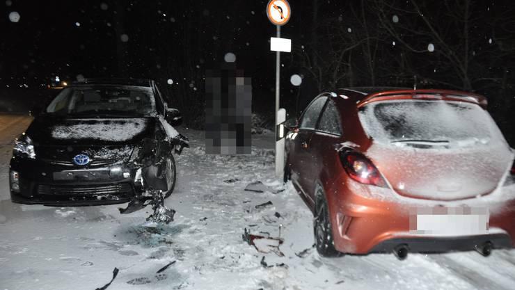 Auf den Strassen im Kanton Solothurn ereigneten sich am Montag 16 Verkehrsunfälle.