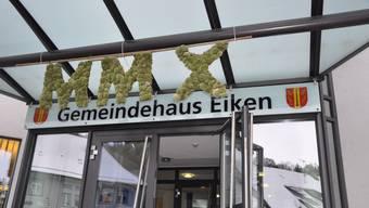 Offene Türen: In der Gemeinde Eiken sind neue Ortsbürgerinnen und Ortsbürger willkommen. (dvk)