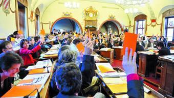 Viel zu tun: Der Kantonsrat wird über 35 Änderungsanträge zum Legislaturplan entscheiden müssen. (Bild: Oliver Menge)