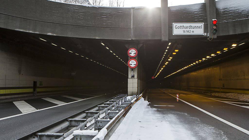 Zuständigkeiten im Gotthard-Tunnel neu geregelt