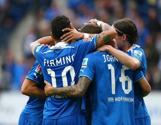 Die Spektakel-Mannschaft aus Hoffenheim.