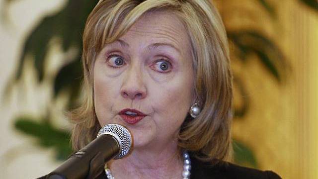 US-Aussenministerin Clinton lobt Honduras für Fortschritte (Archiv)