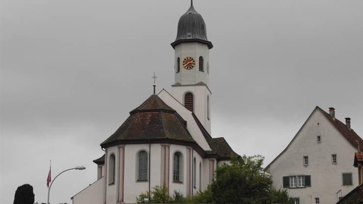 Die katholische Kirche in Frick.