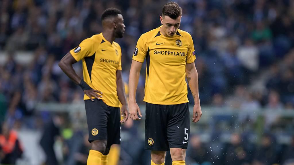 1:2 in Porto: Die Young Boys erwachten zu spät