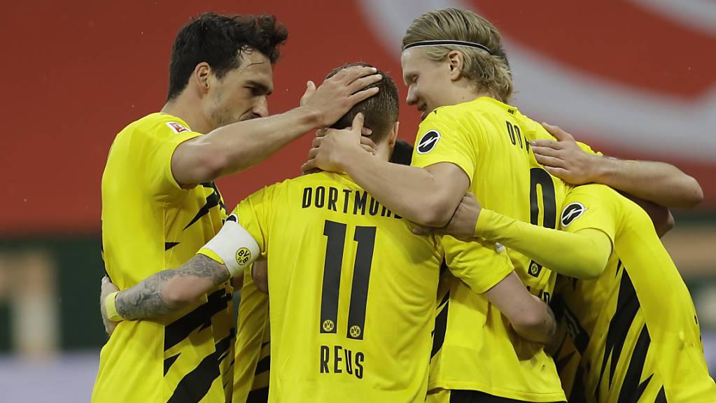 Die Dortmunder haben wieder Grund zum Feiern.